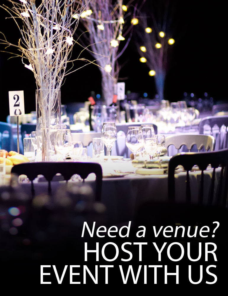 Host your event at G Live